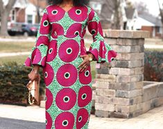 African Clothing African Top Tops for Women Peplum Top African Wax Print African Prints Ankara Blouse Dashiki Top, African Plus Size, Plus