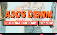 Want to be more popular? ASOS denim gets shoppable with interactive wireWAX video. Submit your challenges to ASOS denim!