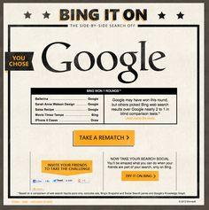 BING - Bing vs. Google Campaign