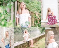 A gorgeous senior session at Allenberry, a historic resort. Photographed by Mechanicsburg Pennsylvania senior photographer Tina Jay Photography.