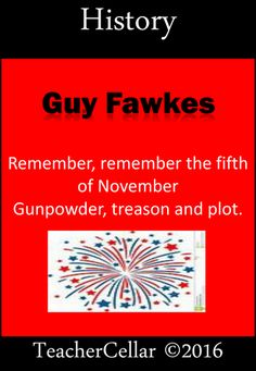 This is a 16 page history and literacy based workbook for all levels in and perhaps Upper There are fact sheets and various writing activities for. Primary History, Teaching History, Teaching Resources, History Guy, The Fifth Of November, Guy Fawkes, Writing Activities, Booklet, Literacy