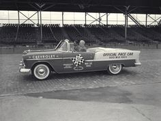 Indy 500 Pace Car, 1955 Chevrolet ★。☆。JpM ENTERTAINMENT ☆。★。