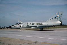 A McChord Air Force Base Convair F-106A Delta Dart of the 318th FIS.