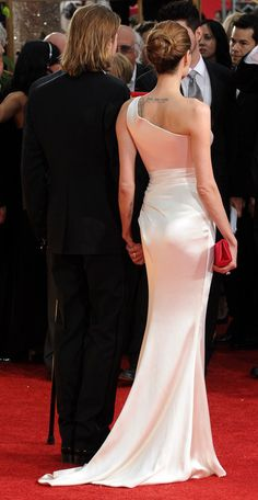 Angie and Brad. From the Back.