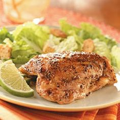 Key Lime Chicken Thighs Recipe | Taste of Home Recipes