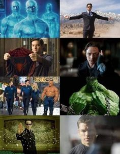 # 이과 출신 영웅들, 이공계 석박사 이과 출신 영웅들이 화제라고 해요. 사진속 인물들은 영화 '아이언맨', '스파이더맨', '매트릭스', '헐크', '엑스맨'등에 나오는 주인공들인데요 이들은 모두 천재적인 두뇌와 초능력을 가지고 있는데,
