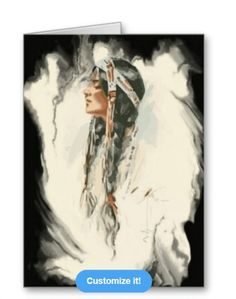 Native American Greeting Card available at: http://www.zazzle.com/native_american_greeting_card-137014559154904017