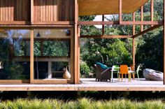 Modern Wooden House Exterior Decorating