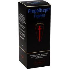 PROPOLISEPT Urtinktur:   Packungsinhalt: 50 ml Tropfen PZN: 00204949 Hersteller: St.Johanser Naturmittelvertr. GmbH Preis: 14,37 EUR…