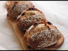 簡単!!クランベリーとクルミのライ麦パンの画像