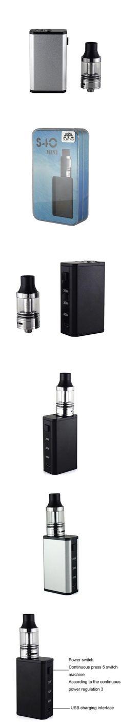 SUB TWO Electronic Cigarettes S40Mini Box Mod Airflow Control top filling tank 1600mah battery S40 mini E-Cigarettes Vape kit