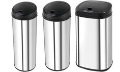 Groupon Goods Global GmbH: Morphy Richards 42L or 50L Sensor Bins from £29.99 With Free Delivery (Up to 79% Off)