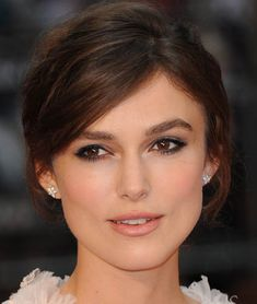 Chanel makeup...she is sooooo pretty! Love everything about her look. So natural and soft.
