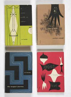 Alvin Lustig book jacket designs