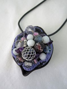 Shades of Purple Bead Pod by playsculptlive, $60.00