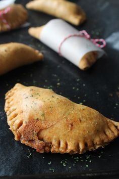 Chilli, Cheese and Potato Empanadas