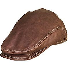 Overland Sheepskin Co Allen Leather IVY Cap