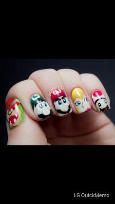 Mario, it's so cute.