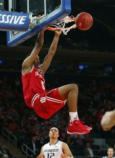 Troy Williams on the big stage!  #IUCollegeBasketball
