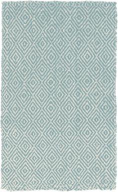 Surya Reeds REED-809 Slate Blue / Winter White Area Rugs