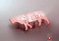 Carnes & Carnes: Ice tray