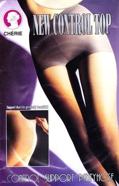 CHERIE Control Top Support PANTYHOSE