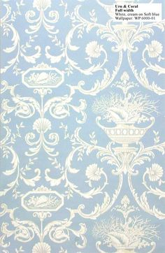 Textiles/wallpaper - 1740 - 1840 Georgian and Federal Homes (Also suitable for Federal and Colonial Revival style homes of the early century) Georgian Era, Georgian Homes, Damask Wallpaper, Victorian Wallpaper, Antique Wallpaper, Georgian Interiors, Georgian Architecture, Up House, William Morris