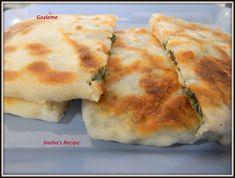 Gozleme - A Turkish Flatbread ~ Sneha's Recipe