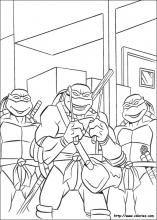 teenage mutant ninja turtles coloring pages on coloring bookinfo - Ninja Turtle Pizza Coloring Pages