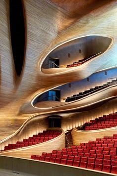 MAD architects, Adam Mørk, Hufton + Crow · Harbin Opera House