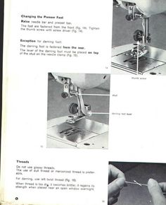 elna supermatic sewing machine instruction manual sew what rh pinterest com elna supermatic sewing machine service manual Elna Super Sewing Machine Manual