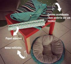 Casa Montada: O cantinho do nosso pet- Casinha DIY