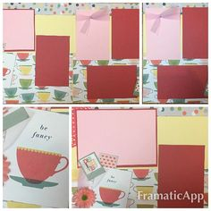 American Crafts Shimelle True Stories   2 page layout kit -12x12. This kit has been created by Crop-A-Latte. All items are precut and ready to assemble. Youll also receive easy to follow