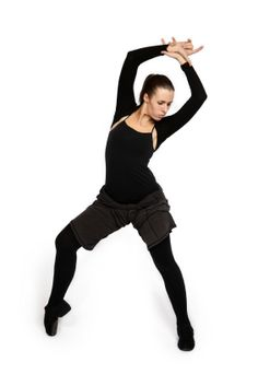 This very versatile dance form is best executed with leather jazz shoes, footwear designed to help the dancers move smoothly, especially when executing difficult turns such as the pirouette.