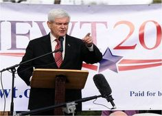 I'm ready for Newt to restore America