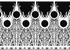 peacock pattern - Google 검색