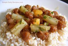 Veri Veri Teriyaki Chickpeas and Rice.  DT- we love.