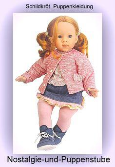 Schildkröt Puppenkleidung für 50 - 55 cm Puppen, Jeansrock... nur 50.90 EUR