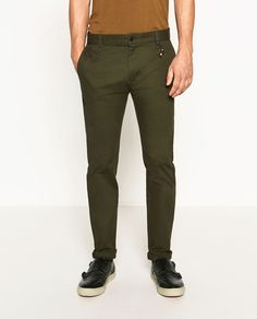 ZARA - MAN - SKINNY TROUSERS