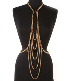 PWB5195 - Layered body chain - $22.99 : Shop Trendy Jewelry and Accessories, Peeny Wallie Boutique