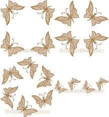 Billedresultat for butterfly embroidery