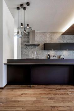 Double Vanity, Kitchen Decor, House Design, Wood, Interior, Home Decor, Cooking, Modern Kitchens, Modern