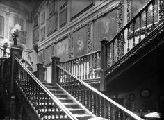 Interior, Great Barr Hall Perry Hall, Sutton Coldfield, Walsall, West Midlands, Local History, Birmingham, Buildings, Stairs, Houses