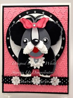Puppy Punch Art by shargod - Cards and Paper Crafts at Splitcoaststampers