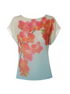 orchid branch tee