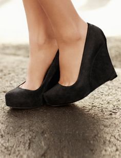 Platform Wedge, Ann Taylor...I am into platforms and less so heels these days--harder to chase kids in the spiky heels!