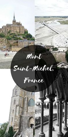 Put Mont Saint-Michel at the 'peak' of your bucketlist for North West France! Travel Tips For Europe, Places To Travel, Places To Go, Travel Destinations, Travel List, Travelling Europe, Traveling, Travel Pictures, Travel Photos