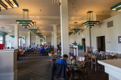 Haynes Photo Shop Mammoth Hot Springs Yellowstone National Park Delectable Mammoth Hot Springs Hotel Dining Room Design Ideas