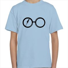 Camiseta gafas de Harry Potter