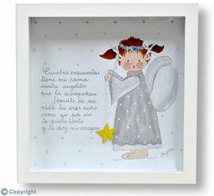 Cuadro infantil personalizado: Ángel de la guarda (ref. 10063)